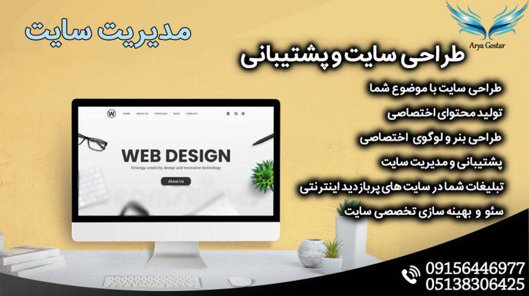 طراحی سایت قالیشویی